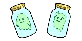 Rick and Morty Ghost in a Jar Cursor