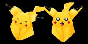 Origami Pikachu Cursor