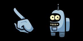 Among Us Bender Character Cursor