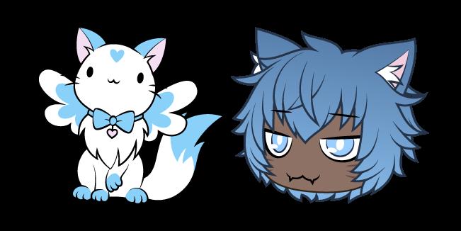 Gacha Life Kai and Magical Neko