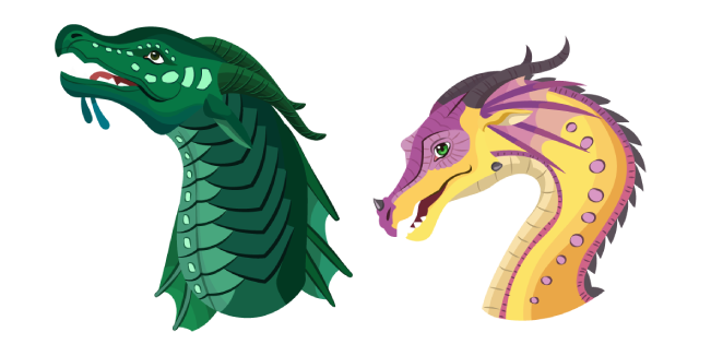 Wings of Fire Turtle and Kinkajou