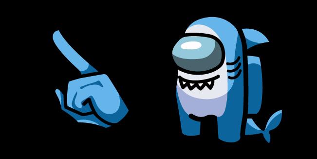 Among Us Shark Character