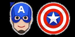 Captain America Shield Cursor