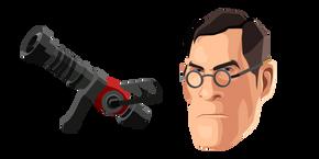 Team Fortress 2 Medic and Medi Gun Cursor