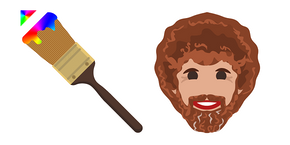 Bob Ross Paint Brush