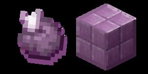 Minecraft Chorus Fruit and Purpur Block Cursor