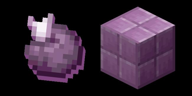 Minecraft Chorus Fruit and Purpur Block