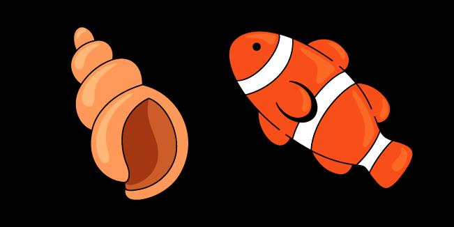 VSCO Girl Fish and Shell