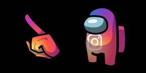 Among Us Instagram Character Cursor