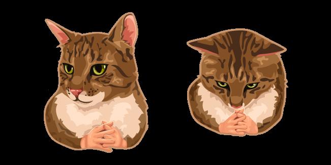 Cat with Hands Meme