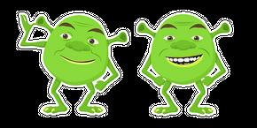 Shrek Wazowski Curseur