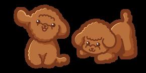Cute Poodle Dog Curseur