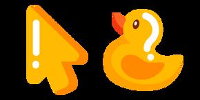 Minimal Bath Duck Cursor