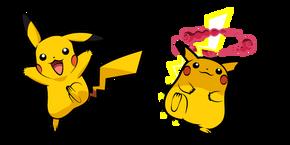 Курсор Pokemon Пикачу и Гигантамакс Пикачу
