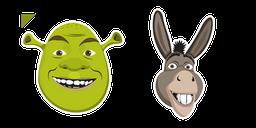 Shrek and Donkey Cursor