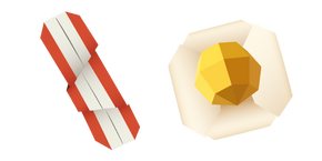 Origami Bacon and Egg