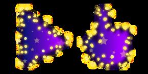 Purple Fairy Lights Cursor