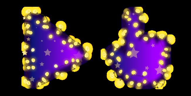 Фиолетовые Гирлянды
