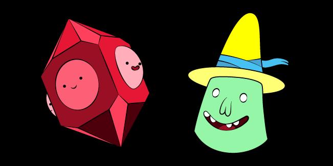 Adventure Time Magic Man and Grob Gob Glob Grod