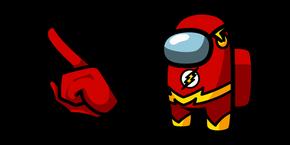 Among Us Flash Character Cursor