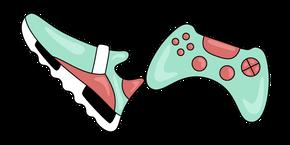 VSCO Girl Sneaker and Joystick Curseur
