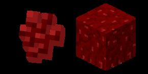 Minecraft Nether Wart and Block Cursor