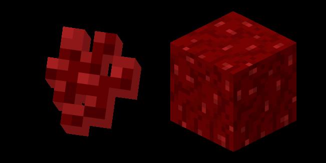 Minecraft Nether Wart and Block