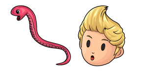 Mother 3 Lucas and Rope Snake Cursor