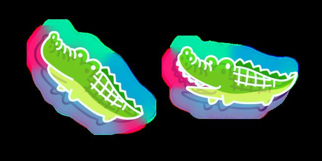 Neon Crocodile