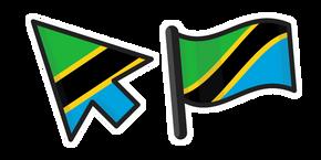 Tanzania Flag Cursor