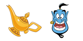 Aladdin Lamp and Genie Cursor
