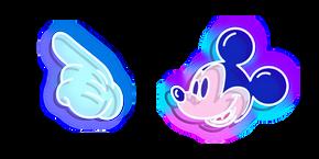 Neon Mickey Mouse Curseur