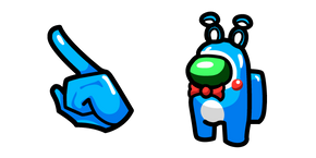 Among Us Toy Bonnie Character Cursor