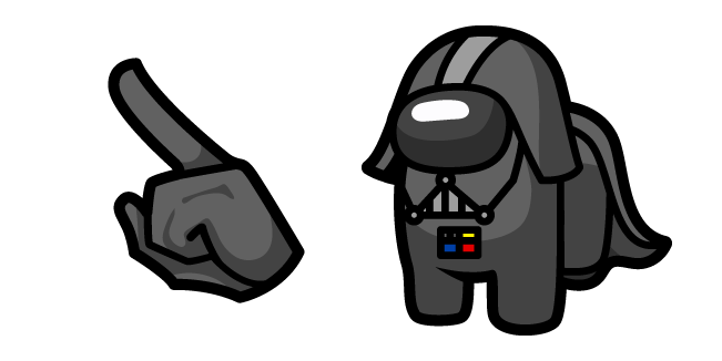 Among Us Darth Vader Character