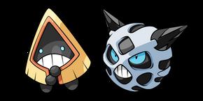 Курсор Pokemon Снорунт и Глэли