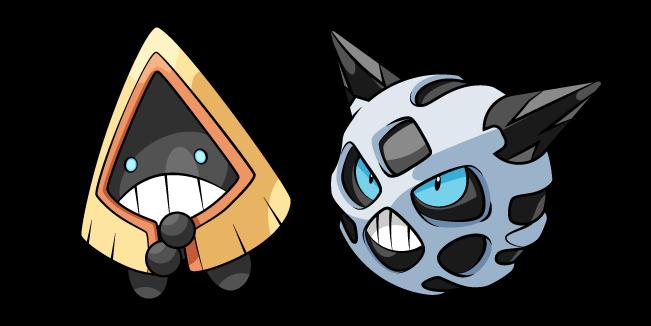 Pokemon Snorunt and Glalie