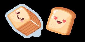 Cute Bread Curseur