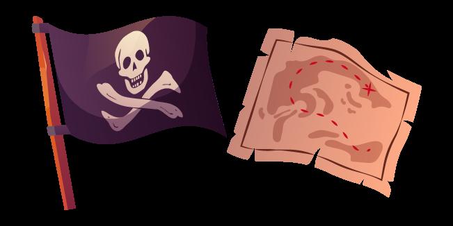 Jolly Roger and Treasure Map