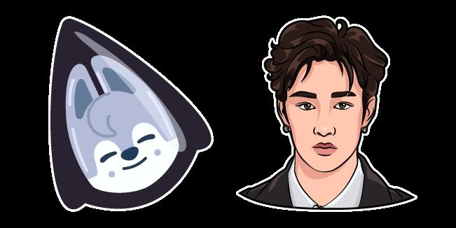 Stray Kids Bang Chan and Wolf Chan