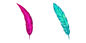 Feathers Enchanted with Magic Cursor