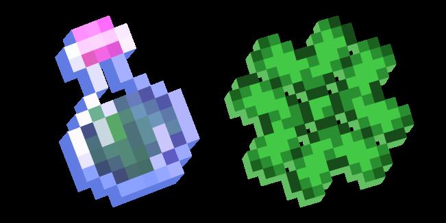 Minecraft Эффект Удачи и Зелье Удачи