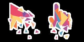 Colorful Polygonal Cursor