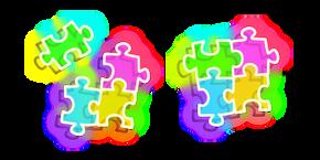 Neon Puzzle Cursor