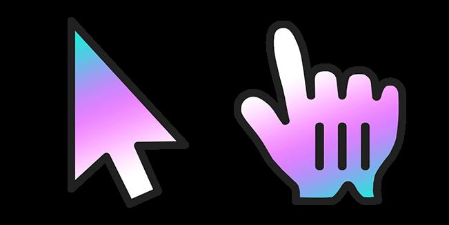 Custom Cursor Logo Gradient