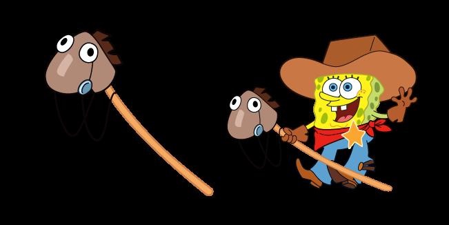 SpongeBob Cowboy Yeehaw Meme