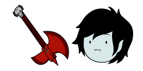 Adventure Time Marshall Lee and Guitar Cursor