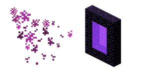Minecraft Nether Portal Cursor