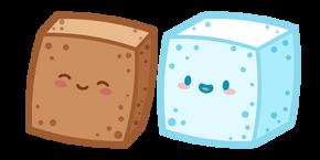 Cute Sugar Cubes Cursor