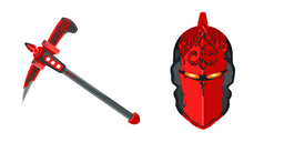 Fortnite Red Knight Skin Crimson Axe Cursor