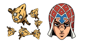 JoJo's Bizarre Adventure Mista and Six Bullets Cursor